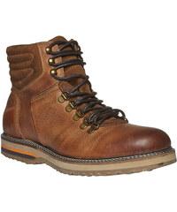 Baťa Kožené zimní boty ke kotníkům