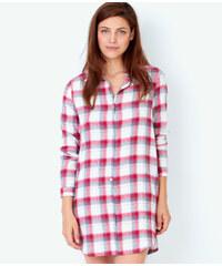 Chemise de nuit à carreaux Etam