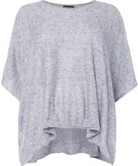 Samoon PLUS SIZE - Strickshirt im Poncho-Look