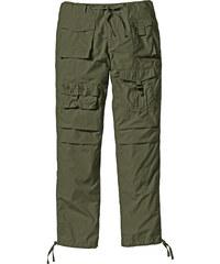 bpc bonprix collection Pantalon cargo Loose Fit, N. vert homme - bonprix