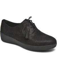 FitFlop - Classic Tassel Superoxford - Schnürschuhe für Damen / schwarz