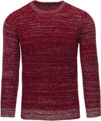 Coolbuddy Pánský svetr v barvě bordó 9333 Velikost: M