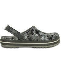 Crocs Crocband Camo Clog Charcoal