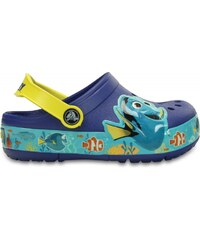 Crocs Lights Finding Dory Clog Cerulean Blue / Lemon
