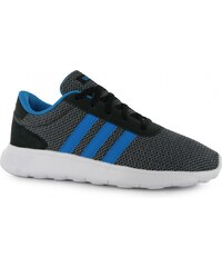 Adidas Lite Racer Childrens Trainers, blk/solblu/grey