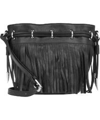 Ash Sacs à Bandoulière, Allegra Mini Drawstring Bucket Bag Turtle Black en noir