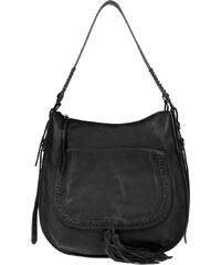 Ash Sacs à Bandoulière, Clover Hobo Bag Leather Black en noir