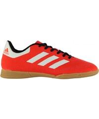 Adidas Goletto Indoor Court Trainers Junior Boys, solar red