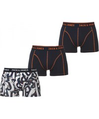 Jack and Jones Carlisle 3 Pack Boxers, burnt ochre