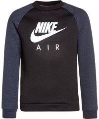 Nike Performance HYBRID Sweatshirt black/obsidian heather/white