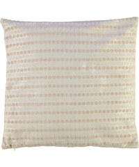 Linens and Lace Dot Chenille Cushion, mocha