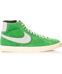 Nike Blazer Mid Suede - High Sneakers aus Chamoisleder - grün
