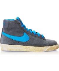 Nike Blazer Mid Vintage - High Sneakers aus Chamoisleder - blau