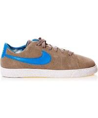 Nike Blazer Low - Sneakers aus Chamoisleder - grau