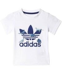 adidas Originals FR TREFOIL TShirt print white/night sky