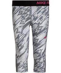 Nike Performance PRO DRY Tights pure platinum/cool grey/black/vivid pink