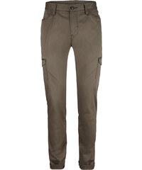 SIR OLIVER Stretto Straight: Satin-Cargohose