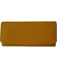 Earth Dámská kožená peněženka 452 žlutá
