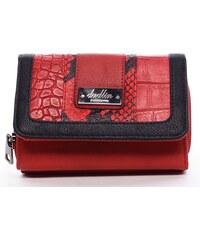 Dudlin Stylová peněženka Esmeralda, červená