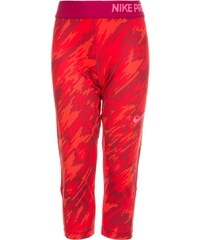 Nike Performance Pantalon 3/4 de sport light crimson/university red/hyper pink