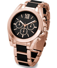 bpc bonprix collection Schicke Armbanduhr in schwarz für Damen von bonprix