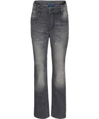 TOM TAILOR Flared Jeans bleached black denim