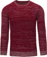 Pánský bordový svetr (wx0790) velikost: XXL, odstíny barev: červená