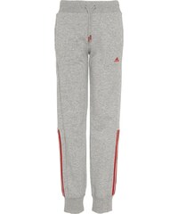 adidas Performance ESSENTIALS Pantalon de survêtement medium grey/heather/ray red