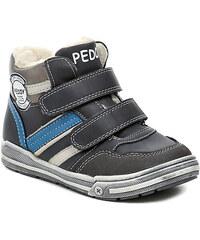 Dětská obuv Peddy PV-636-37-03 modré chlapecké zimní boty