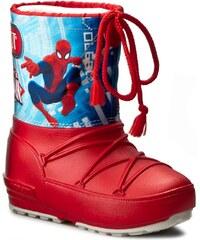 Sněhule MOON BOOT - Pod Jr Spiderman 34020800001 Rosso/Blu