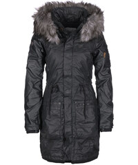 Khujo Julita Fake Leather W Parka black