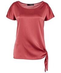 Damen HALLHUBER Knotenshirt mit Seidenfront HALLHUBER rot 34,36,38,42,44