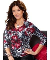 Damen Lady Shirt mit herzförmig geschwungenem Ausschnitt LADY rot 38,40,42,44,46,48,50,52,54