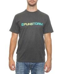 Pánské tričko Funstorm Galt dark grey S