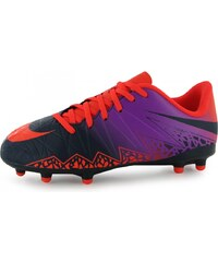 Nike Hypervenom Phelon FG Football Boots Childrens, orange/purple