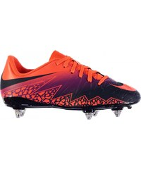 Nike Hypervenom Phelon SG Football Boots Junior, orange/purple