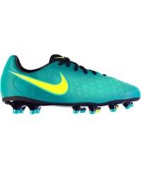 Nike Magista Opus FG Football Boots Junior, rio teal/volt