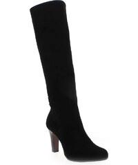 Bottes Femme Rosemetal en Cuir velours Noir