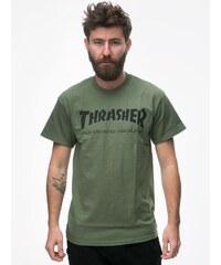 Thrasher Skate Mag Military Green