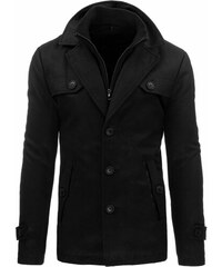 Zimní kabát pro elegány černý