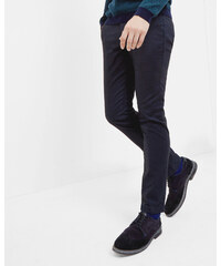 Ted Baker Slim-Fit-Hose mit Mini-Design Marineblau