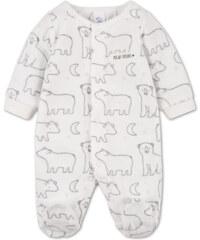 C&A Baby-Microfleece-Schlafanzug in weiß