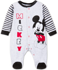 C&A Baby Mickey Mouse Baby-Schlafanzug in Grau