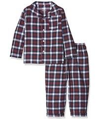 Mamas & Papas Baby-Jungen Zweiteiliger Schlafanzug and Boys Jersery Woven Pyjamas