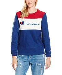 Champion Reverse Weave Damen Sweatshirt Cut and Sew Applique Crew Sweat