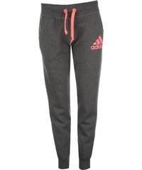 Adidas Logo Cuff Pants Ladies, drkgrey/flashre