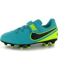 Nike Tiempo Rio FG Football Boots Childrens, jade/black
