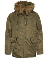 DENIM & SUPPLY Ralph Lauren Daunenjacke mit Webpelz DNF Down Snorkel