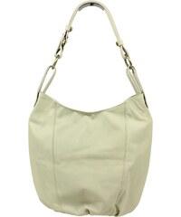 Béžová kožená kabelka Lagia Beige Chiaro