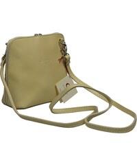 malá kožená kabelka přes rameno Grana Beige